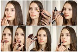 Создание макияжа по шагам