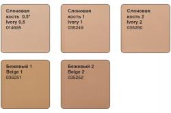 Разновидности оттенков крем-пудры