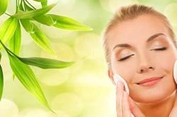 Нанесение крем пудры на комбинированную кожу лица