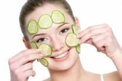 Огуречная маска для осветления кожи лица