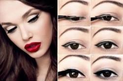 Техника рисования стрелок на глазах