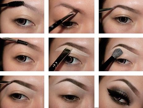 Как сделать красивые брови если своих нет