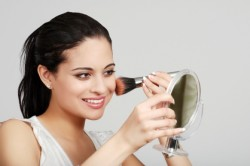 Нанесение макияжа на круглое лицо