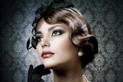 Вечерний макияж в стиле ретро
