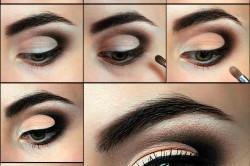 Макияжа зеленых глаз для карнавала или тематической вечеринки