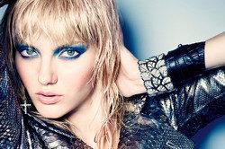 Гламурный рок макияж