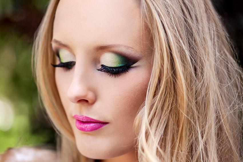 Фантазийный макияж на выпускной вечер