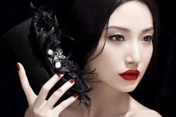 Восточный макияж лица