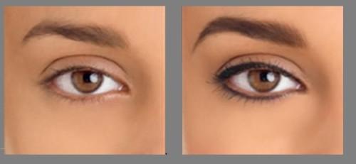 Перманентный макияж до и после процедуры