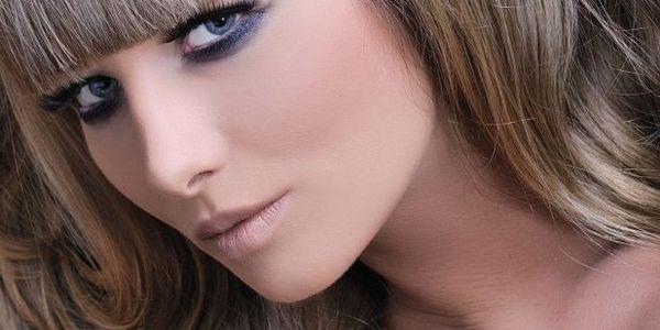 Вечерний макияж для нависших век