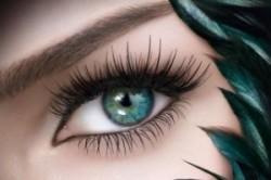 Изменение формы глаза с помощью наращивания ресниц