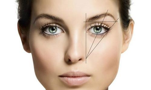 Виды бровей: выбор подходящей формы, оформления (фото)