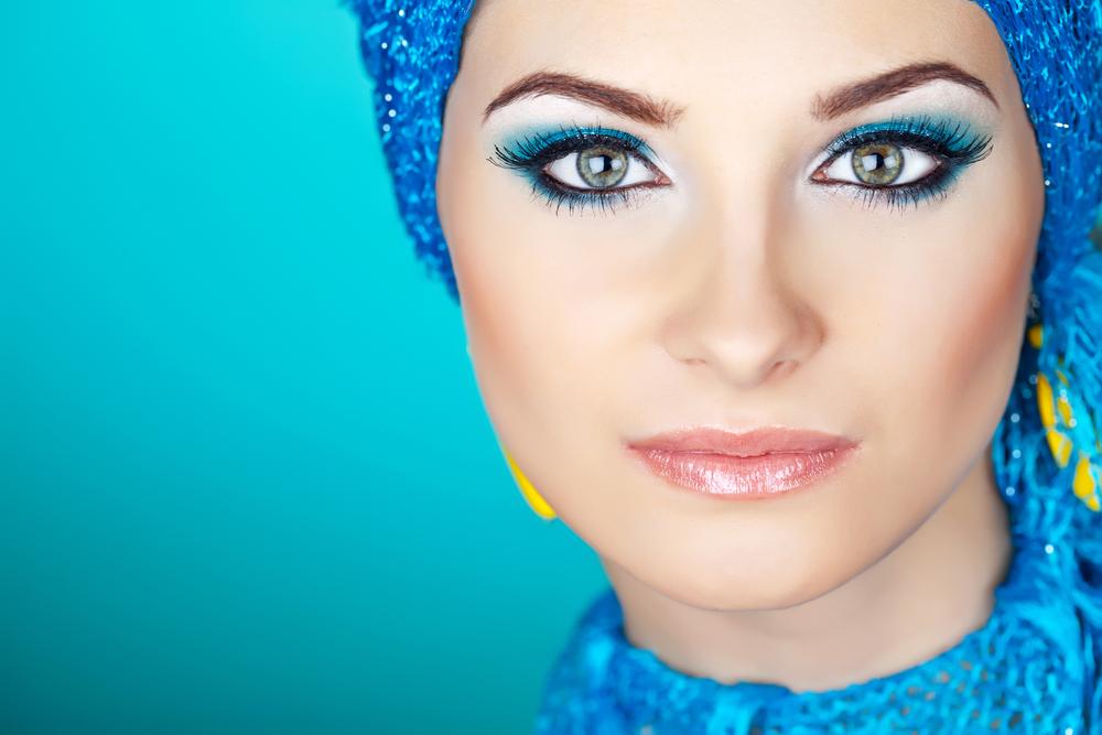 макияж к бирюзовому платью фото наконец, ярко-выраженные