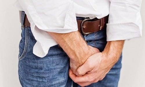 Легкое жжение в пенисе при мочеиспускании