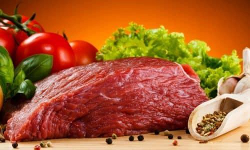Не запрещены при цистите к употреблению мясные блюда из нежирной говядины