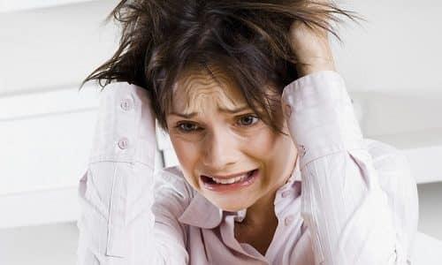 Неправильная работа мочевого пузыря возникает из-за стрессов