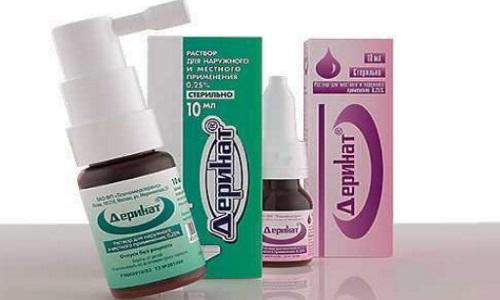 Деринат используется как самостоятельное средство в профилактических и лечебных целях при ОРВИ