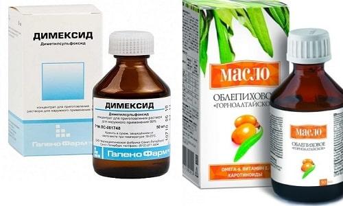 Димексид и облепиховое масло широко используются в косметологии