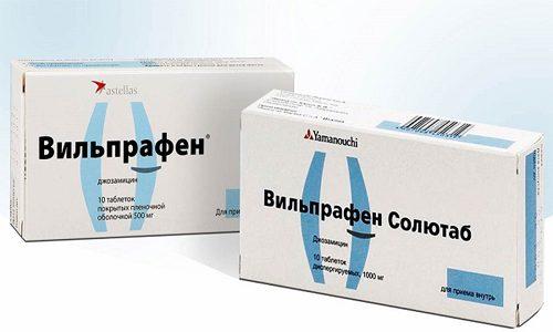 Вильпрафен относится к категории антибактериальных средств из категории макролидов
