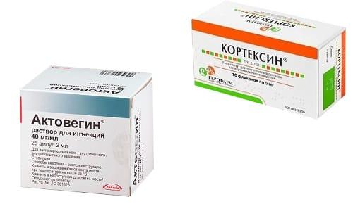 Актовегин и Кортексин являются препаратами, относящимися к фармакологической группе ноотропов