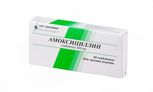 Амоксициллин рекомендуют при воспалительных процессах в верхних и нижних дыхательных путях