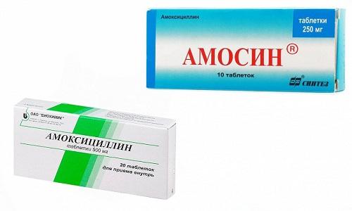 Амосин и Амоксициллин принадлежат к группе антибиотиков пенициллинового ряда, в их составе одно и то же действующее вещество