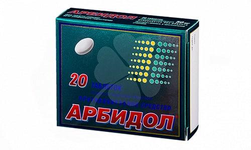 Арбидол используют при хроническом бронхите, пневмонии, инфекции герпеса