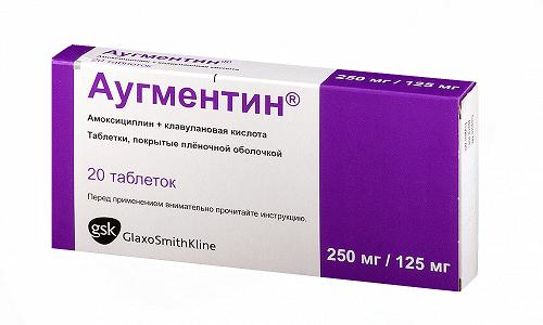 Аугментин применяется в комплексном лечении смешанных инфекционных заболеваний