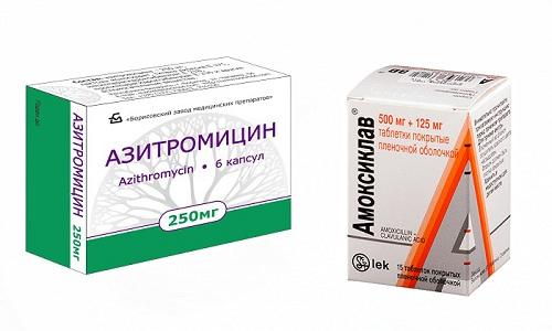 Амоксиклав и Азитромицин относятся к антибиотикам широкого спектра действия, которые могут назначаться до проведения анализа на чувствительность возбудителя
