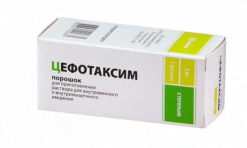 Применяют Цефотаксим в ступенчатой терапии для лечения гонореи, инфекционных болезнях кожи