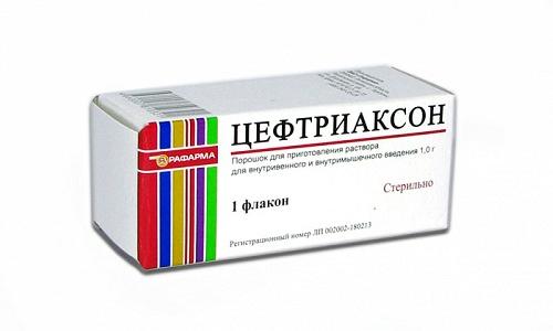 При пневмонии иногда используется Цефтриаксон совместно с Левофлоксацином