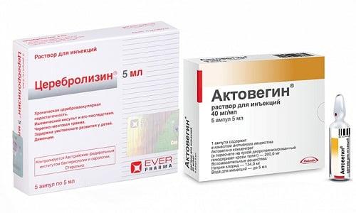 При заболеваниях нервной системы всегда назначаются нейротропные средства - Актовегин, Церебролизин