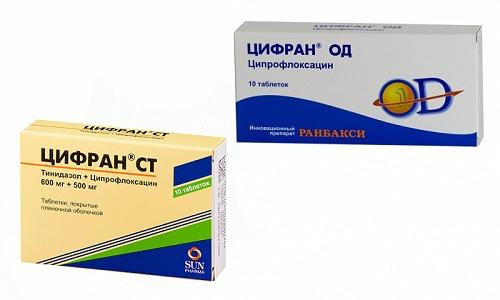 Антибактериальные препараты Цифран СТ и Цифран ОД применяются в лечении инфекционных заболеваний