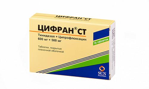 Цифран применяют при инфекционных поражениях мочеполовой системы