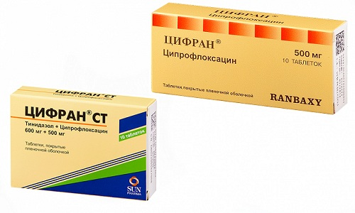 Препараты Цифран и Цифран СТ относятся к категории антибиотических средств