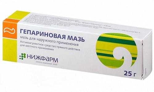 Гепариновая мазь снижает проницаемость сосудов, вызванную воспалительным процессом или аллергической реакцией