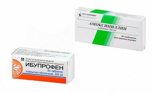 Амоксициллин и Ибупрофен часто применяют вместе для терапии инфекционных болезней