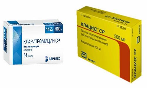 Клацид и Кларитромицин применяются для лечения вирусных и инфекционных заболеваний