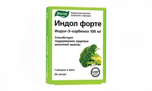 Индол Форте представляет собой источник индол-3-карбинола в организме