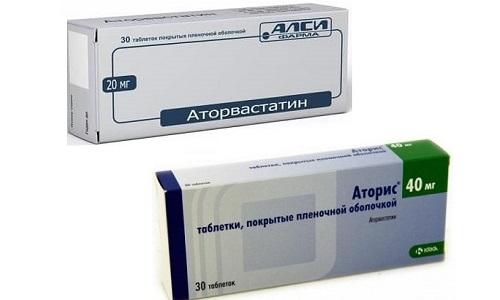 Аторис и Аторвастатин - гиполипидемические средства, которые выпускаются в таблетированной форме