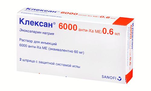 Клексан разрешается использовать при искусственном оплодотворении
