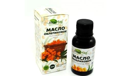 Облепиховое масло способствует регенерации и укреплению локонов