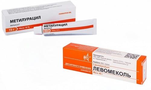 Левомеколь можно заменить на Метилурацил, но не всегда. Все зависит от клинической картины заболевания