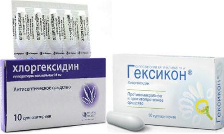 Гексикон и Хлоргексидин характеризуются выраженным бактерицидным действием и являются антисептиками