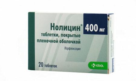 Нолицин может вызвать проявления аллергического характера