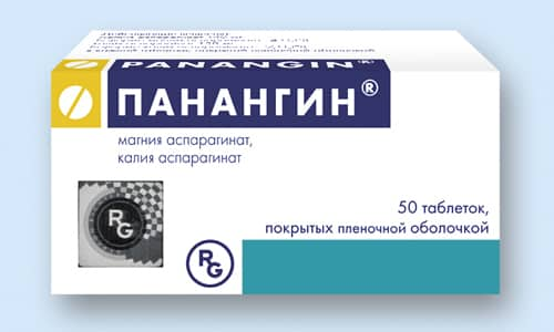Панангин используется в качестве заместительной терапии при дефиците калия и магния