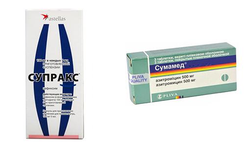 Супракс и Сумамед - эффективные антибактериальные препараты, которые нередко назначаются при разных инфекциях