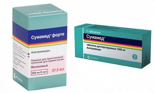 Сумамед и Сумамед форте - антибактериальные лекарственные средства. Имеют идентичный состав и принцип действия