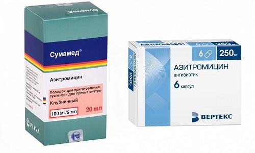 Лечение многих инфекционных заболеваний проводится с помощью таких препаратов, как Азитромицин и Сумамед