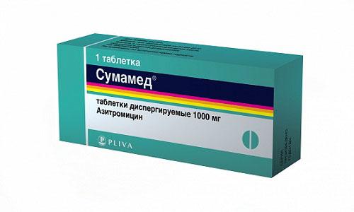 Сумамед принимают при инфекционных заболеваниях мочеполовых путей, вызванных хламидиями